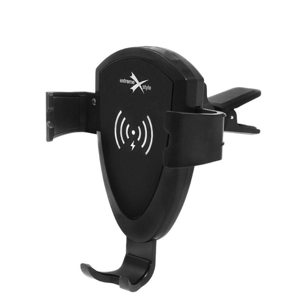 EXTREME-STYLE Gravitační držák na telefon do auta s bezdrátovým nabíjením, rozpětí 60 - 88 mm