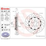 Bremsscheibe TWO-PIECE FLOATING DISCS LINE BREMBO 09.9477.23