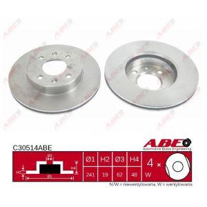 1 Stück TRW DF6040 Bremsscheibe