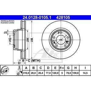 Textar Bremsbeläge mit Wkt Mercedes Viano und Vito BM639 für vorne und hinten
