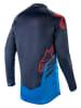 Koszulka off road ALPINESTARS MX RACER TECH COMPASS kolor fioletowy/granatowy/niebieski