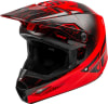 Kask cross/enduro FLY RACING KINETIC K120 ECE kolor czarny/czerwony