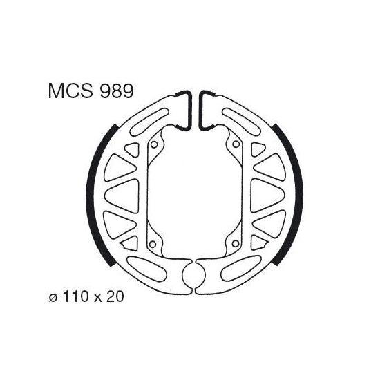 Lucas MCS800 Bremsbackensatz