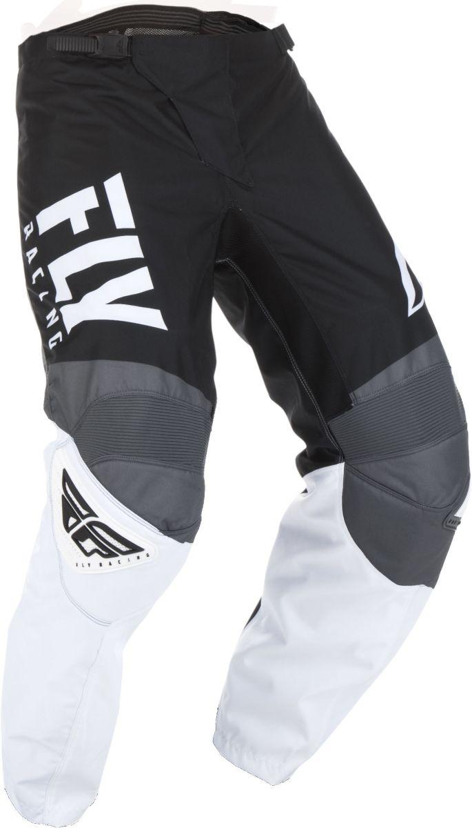 Spodnie crossenduro FLY RACING F 16 kolor białyczarnyszary