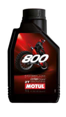 Olej do silników 2T 2T MOTUL 800 Factory Line Off Road 1l Przewyższa JASO FD Syntetyczny estrowy