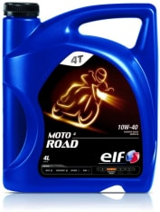 Olej do silników 4T 4T ELF Moto 4 Road SAE 10W40 4l SJ JASO MA-2 Półsyntetyczny