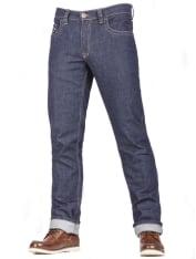 """Spodnie jeans FREESTAR CAFE RACER (długość nogawki 34"""") kolor granatowy"""