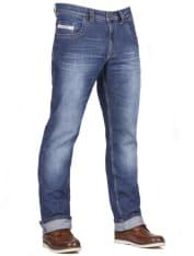"""Spodnie jeans FREESTAR CAFE RACER (długość nogawki 34"""") kolor niebieski"""