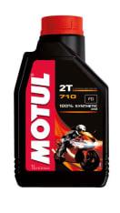 Olej do silników 2T 2T MOTUL 710 1l TC JASO FD Syntetyczny estrowy