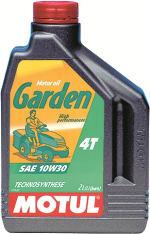 Olej do silników 4T 4T MOTUL Garden SAE 10W30 2l CF; SH; SJ do kosiarek i innych urządzeń ogrodowych