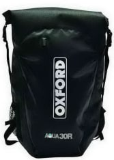 Plecak (30L) AQUA 30R OXFORD kolor czarny, rozmiar OS