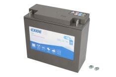 Akumulator Rozruchowy/Żelowy EXIDE 12V 16Ah 100A P+ 180x75x165 Uruchomiony GEL12-16