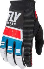 Rękawice cross/enduro FLY RACING EVOLUTION DST kolor czarny/czerwony/niebieski