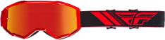 Gogle motocyklowe FLY RACING 2019 Zone kolor czerwony