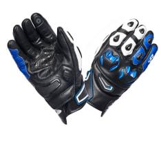 Rękawice sportowe SPYKE TECH SPORT kolor biały/czarny/niebieski