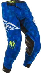 Spodnie cross/enduro FLY RACING EVOLUTION kolor biały/niebieski