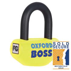 Zabezpieczenie antykradzieżowe OXFORD Boss kolor żółty