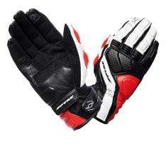 Rękawice sportowe SPYKE SPORT TOURING LEATHER kolor biały/czarny/czerwony