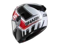 Kask integralny SHARK RACE-R PRO REPLICA ZARCO GP DE FRANCE kolor biały/czarny/czerwony/niebieski