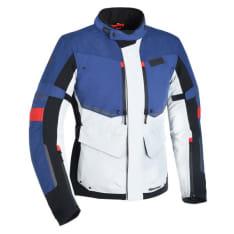 Kurtka turystyczna OXFORD WEAR MONDIAL ADVANCED kolor biały/czarny/czerwony/niebieski