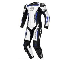Kombinezon jednoczęściowy ASSEN RACE SPYKE kolor biały/czarny/niebieski