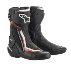 Buty sportowe SMX PLUS v2 ALPINESTARS kolor biały/czarny/czerwony/fluorescencyjny