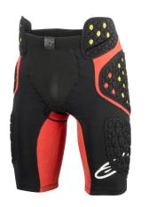 Szorty z ochraniaczami ALPINESTARS MX SEQUENCE PRO kolor czarny/czerwony