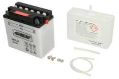 Akumulator Kwasowy/Obsługowy/Rozruchowy 4 RIDE 12V 7Ah 124A P+ odpowietrzenie z prawej 137x76x134 Suchoładowany z elektrolitem HARLEY DAVIDSON SS, SX, SXT, TX; HYOSUNG GA; MBK DOODO 80-500 1973-
