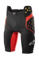 Ochraniacz ALPINESTARS BIONIC PRO SHORTS kolor czarny/czerwony