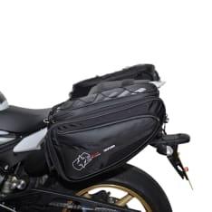Sakwy tekstylne (50L) P50R OXFORD kolor czarny, rozmiar OS