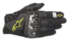 Rękawice turystyczne ALPINESTARS SMX-1 V2 WENTYLOWANE kolor czarny/fluorescencyjny/żółty