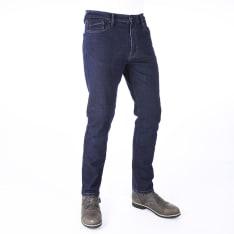Spodnie OXFORD WEAR JEAN SLIM CE AA jeans (regular) kolor granatowy