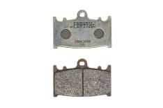 Klocki hamulcowe przód, przeznaczenie: droga, materiał: platinum-P, 70x46x8,3mm KAWASAKI GPZ, KLZ, VN, ZR, ZX-6R, ZX-9R, ZXR, ZZR; SUZUKI GSF, GSR, GSX, GSX-R, RGV, SV, VS 250-2000 1990-