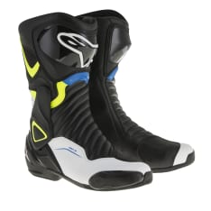 Buty sportowe SMX-6 V2 ALPINESTARS kolor biały/czarny/niebieski