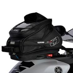Torba na bak (15L) Q4R TANK BAG OXFORD kolor czarny, rozmiar OS pasuje również na tył motocykla; wymaga zestawu Quick relelase