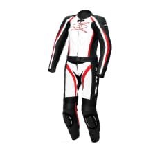 Kombinezon dwuczęściowy BLASTER GT-S LADY SPYKE kolor biały/czarny/czerwony