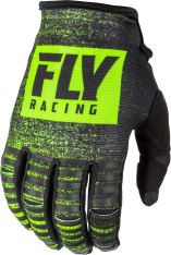 Rękawice cross/enduro FLY RACING KINETIC Noiz kolor czarny/fluorescencyjny/żółty