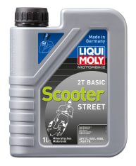 Olej do silników 2T 2T LIQUI MOLY SCOOTER Basic 1l TC JASO FB Mineralny