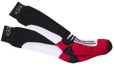 Skarpetki termoaktywne ALPINESTARS RACING ROAD LONG kolor czarny/czerwony