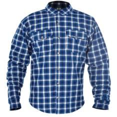 Koszula KICKBACK OXFORD kolor niebieski/biały