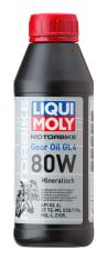 Olej przekładniowy LIQUI MOLY MOTORBIKE GEAR OIL SAE 80 0,5l GL-4 Mineralny