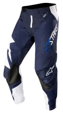 Spodnie cross/enduro ALPINESTARS MX TECHSTAR FACTORY kolor biały/granatowy