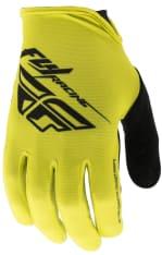 Rękawice rowerowe FLY MEDIA kolor czarny/żółty