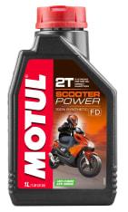 Olej do silników 2T 2T MOTUL Scooter Power 1l TC ISO-L-EGC; JASO FD Syntetyczny estrowy