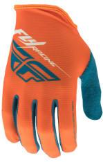 Rękawice rowerowe FLY MEDIA kolor biały/niebieski/pomarańczowy