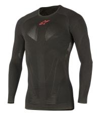 Koszulka termoaktywna ALPINESTARS MX TECH kolor czarny/czerwony