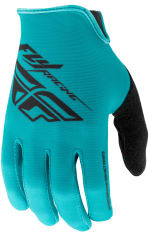 Rękawice rowerowe FLY MEDIA kolor czarny/niebieski