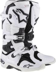 Buty cross/enduro TECH 10 NEW ALPINESTARS MX kolor biały/czarny