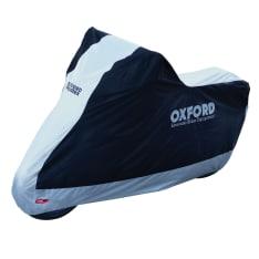 Pokrowiec na motocykl OXFORD AQUATEX NEW kolor srebrny