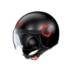 Kask otwarty GREX G3.1E COUPLÉ 13 kolor czarny/czerwony/matowy